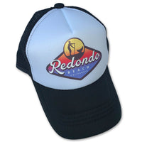 Redondo Beach Standup Paddleboard Badge Trucker Hat