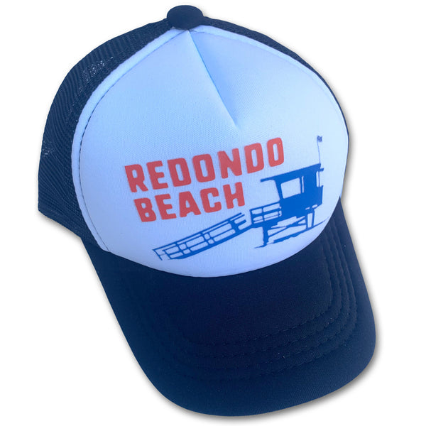 Sol Baby Redondo Beach Lifeguard Tower Trucker Hat
