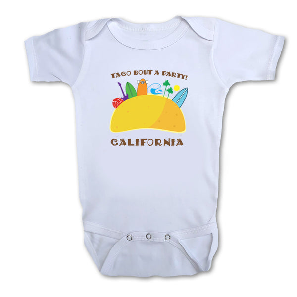 Sol Baby Taco Bout a Party California Bodysuit