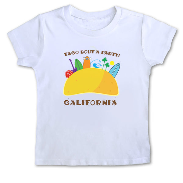 Sol Baby Taco Bout a Party California Tee
