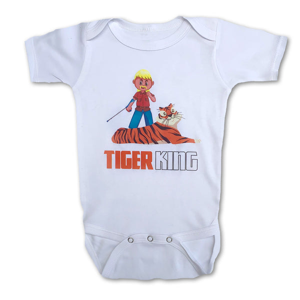 Sol Baby Tiger King Exotic Joe Bodysuit