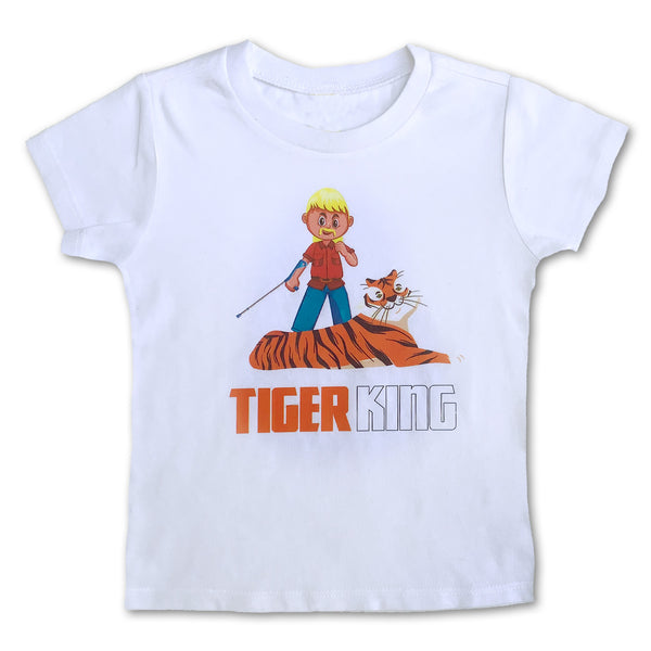 Sol Baby Tiger King Kids Tee with Exotic Joe