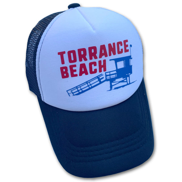 Sol Baby Torrance Beach Lifeguard Tower Trucker Hat