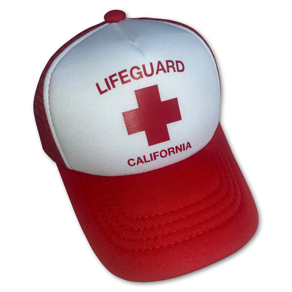 Sol Baby California Lifeguard Trucker Hat