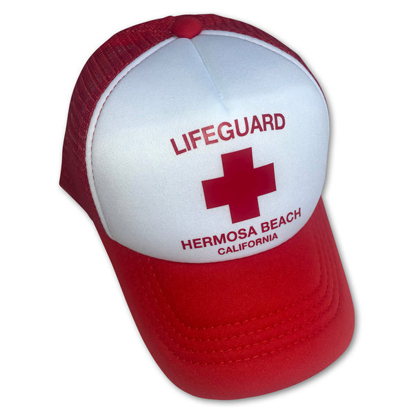 Sol Baby Hermosa Beach Lifeguard Trucker Hat