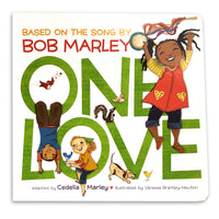 Bob Marley One Love Board Book by Cedella Marley