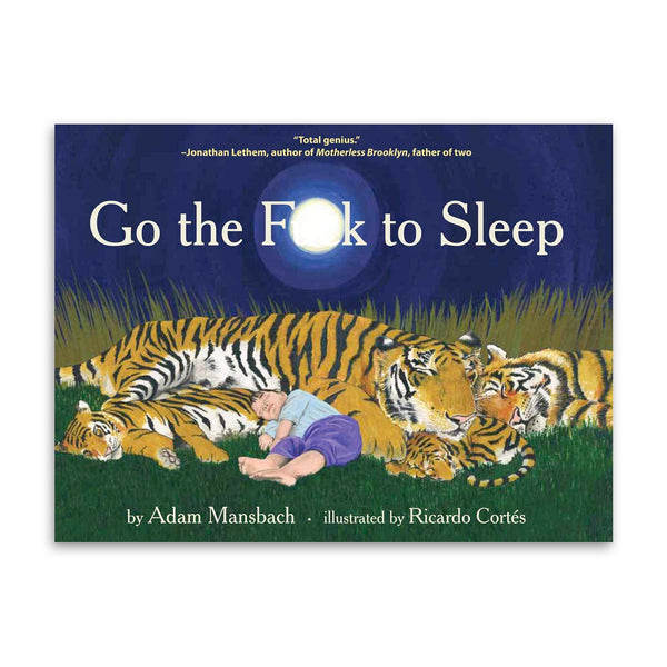 Go the F**k to Sleep Book