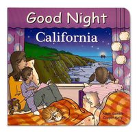 Good Night California Book for Kids