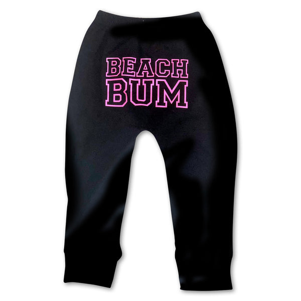 Sol Baby Beach Bum Black Pants
