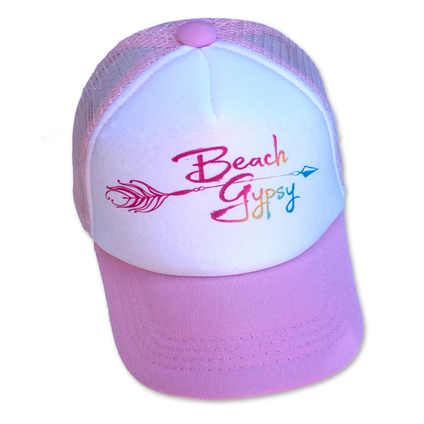 Sol Baby Beach Gypsy Pink Trucker Hat