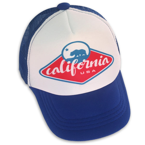 Sol Baby California Bear Badge Trucker Hat