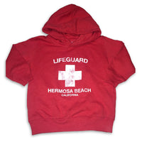 Hermosa Beach California Lifeguard Pullover Hoodie