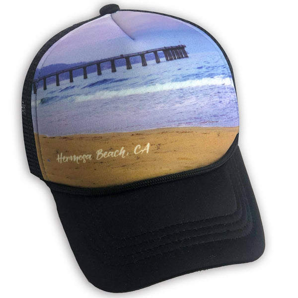 Sol Baby Hermosa Beach Pier Trucker Hat