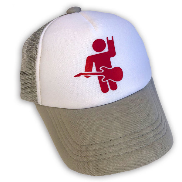 Sol Baby Rocker Man Gray Trucker Hat