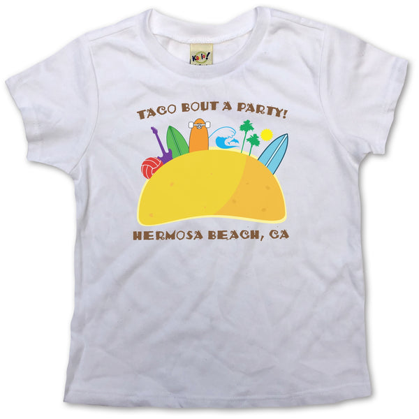 Sol Baby Taco Bout a Party Hermosa Beach Tee