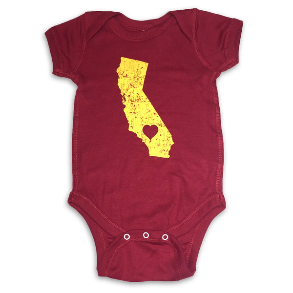 Sol Baby USC California Love Bodysuit