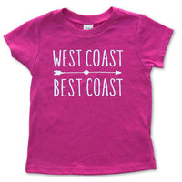 Sol Baby West Coast Best Coast Pink Tee