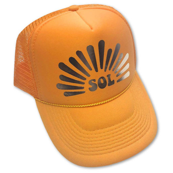Sol Baby Sol Shine Adult Trucker Hat
