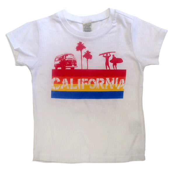 Sol Baby California 4-Color Stripe Tee