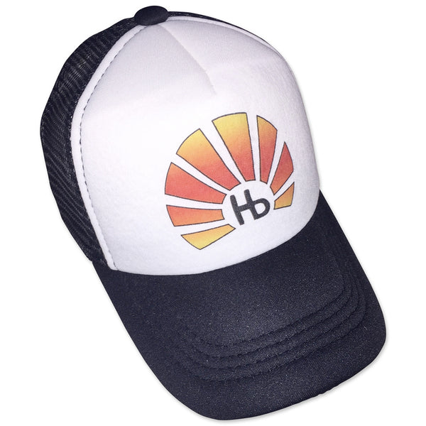 Sol Baby Hb Sunburst Black Trucker Hat
