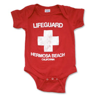 Sol Baby Original Design Hermosa Beach Lifeguard Bodysuit