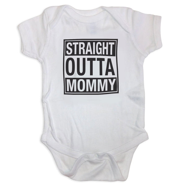 Sol Baby Straight Outta Mommy Bodysuit