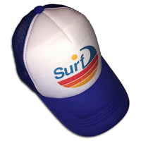 Sol Baby Surf Wave Stripe Trucker Hat