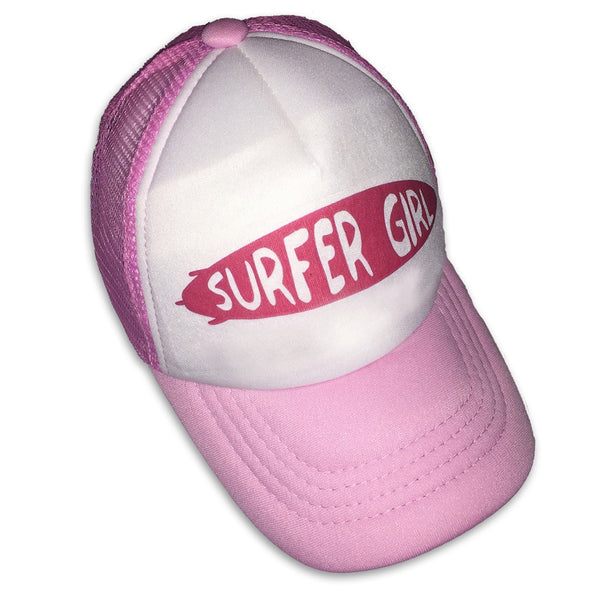 Sol Baby Surfer Girl Surfboard Trucker Hat