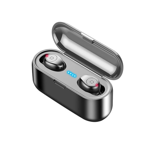 Stereo Sport Bluetooth 5.0 Wireless Headphones Earbuds headset 2000 mAh Power For iPhone Xiaomi