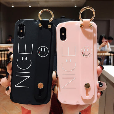 Fingers holder Phone Cases For iPhone 8 7 6 6s Plus X XR XS Max 8plus