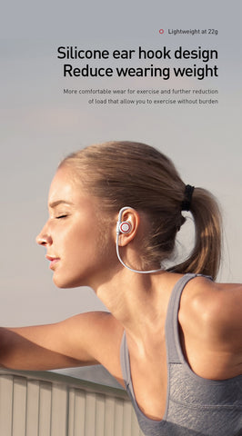 Bluetooth 5.0 Wireless Baseus S17 Sport Earphone For Xiaomi iPhone Ear Phone Buds Handsfree Headset Earbuds