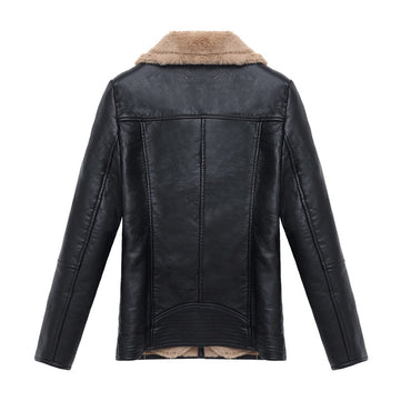 Autumn Winter Ladies Warm Coat Women Leather Jacket MotorBike Basic Casual  Jackets