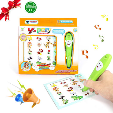 Children Smart Logic Learning Reading Pen With 12 Cards - Educational Learning Logical Toys