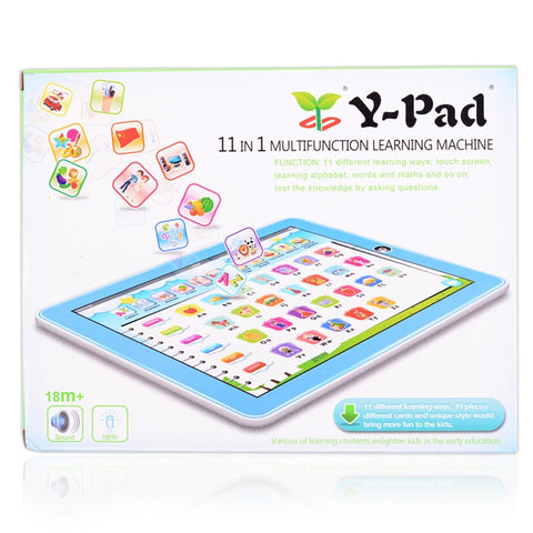 Tablet Learning Toys Pad With Game Kids Learning