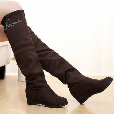 Autumn Winter Ladies Fashion casual Bottom Boots
