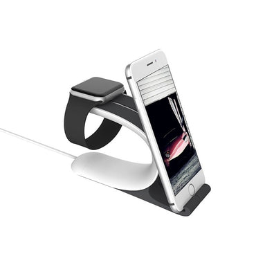 2-in-1 Charging Phone Holder For iPhone