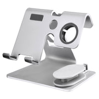 2 In 1 Mobile Phone Smart Watch charger Station Stand