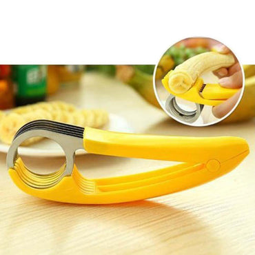 Kitchen Cutter Tools for Fruits Cucumber Banana Slicer Stem Remover Egg