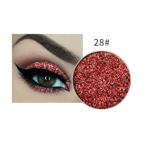 45 Colors Beauty eye shadow Professional diamond shinning 3D eye shadow powder