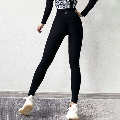 Women Yoga Leggings High Waist Push Up Fitness Trousers