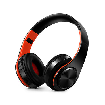 Stereo bluetooth headphone music headset FM and support SD card with mic for mobile xiaomi iphone sumsamg tablet