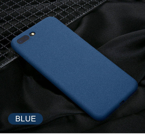 Mobile Case Ultra-Thin Sandstone Case Back Cover Soft Cover Scrub Cover For iPhone 6 6S 7 8 X-XR XS Max Plus phone case