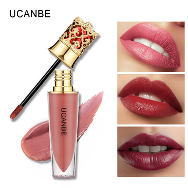 Lipstick Set Waterproof Lip Gloss Makeup Velvet Silky Lip gloss