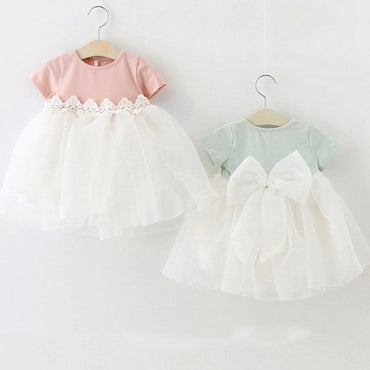 Princess Baby Girl Dress Party Birthday Dress for Newborn baby