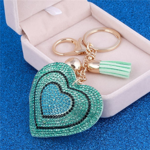 Romantic Heart Jewelry Women Key Holder