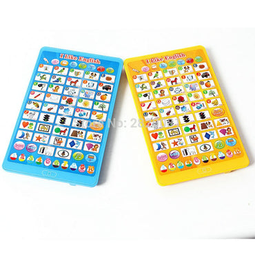 Multifunction tablet computer ,Learning Word + Letter + Shape + Number kid education puzzle Y-pad Toy