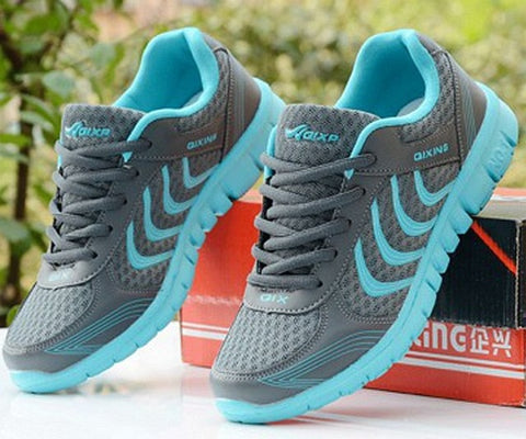 Women Breathable running sport shoes