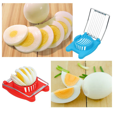 Breakfast Cooking Tools Egg Slicers Manual Food