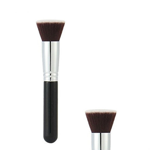 Foundation Makeup Brush For Face - Buffing, Stippling, Concealer - Premium Quality Synthetic Dense Bristles