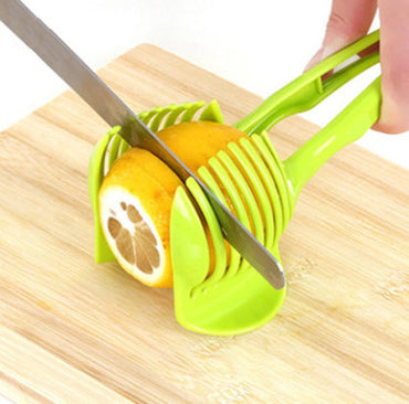 1PC Manual Tomato Lemon Slicer Fruits Cutter Kitchen Tool